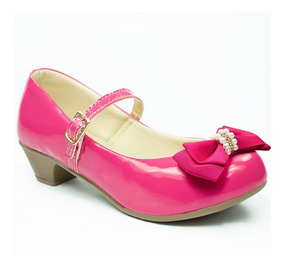 Sapatilha Infantil Feminina Saltinho Salto Sapato Criança 14
