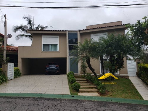 Casa A Venda No Bairro Alphaville Em Santana De Parnaíba - - Vpr4-76m-1