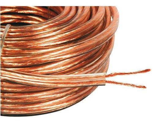 Cabla Parlante 2x 0,80 Mm O F C 10 Metros Alta Defin Neotech
