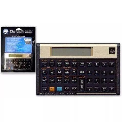 Calculadora Financeira Hp 12c Gold Português Original Nfe
