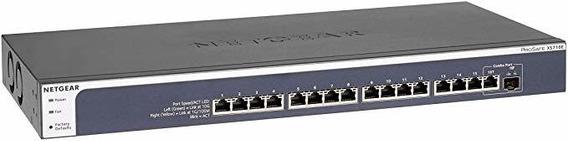 Netgear 16-port 10g Ethernet Smart Managed Plus Switch Xs7 ®