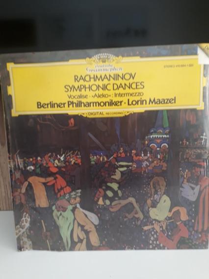 Lp Novo Sergei Rachmaninoff Berlim Filarmônica