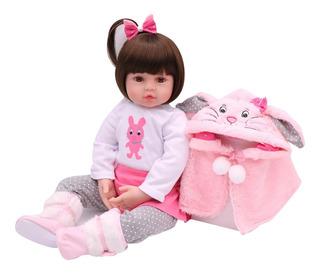 "Reborn Real Life Baby Doll Girl 19 ""bebés Arte Mu?eca"