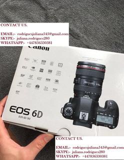 Canon Eos 6d Cámara + 24-105mm Lente