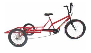 Triciclo De Carga Traseira Big - 3 Opções De Cores!!!