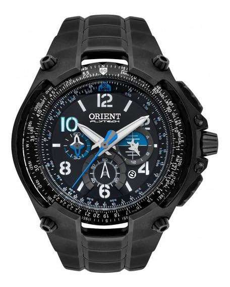 Relógio Preto Masculino Orient Analógico Mpttc001 P2px