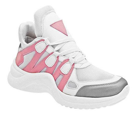 Sneaker Casual Sint Ferrero Mujer Blanco Bota C98409 Udt