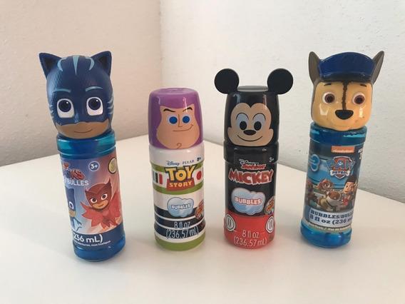 Burbujas Personajes Disney Importados Oferta!