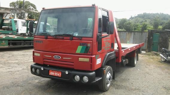 Guinchoplataforma Ford Cargo 815e