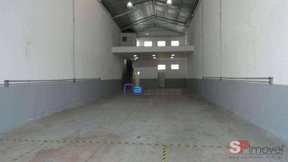 Galpão Para Alugar, 305 M² Por R$ 8.000,00/mês - Mooca - São Paulo/sp - Ga0740
