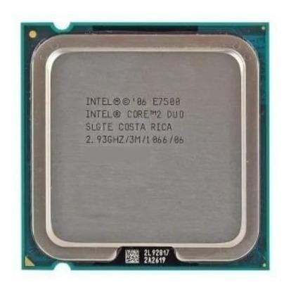 Processador Cpu Core 2 Duo E7500 Intel Lga 775 + Cooler