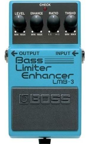 Pedal Para Baixo Boss Bass Limiter Enhacer Lmb-3 + Nf
