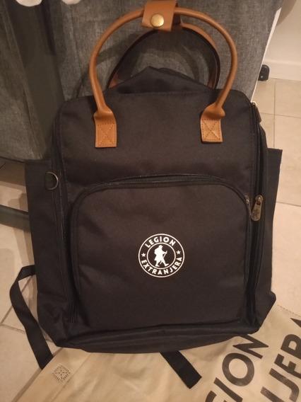 Mochila Baby Bag Patagonia Negro Legion Extranjera