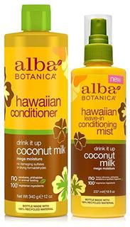 Alba Botanica Natural De Hawai Acondicionador De Leche De Co