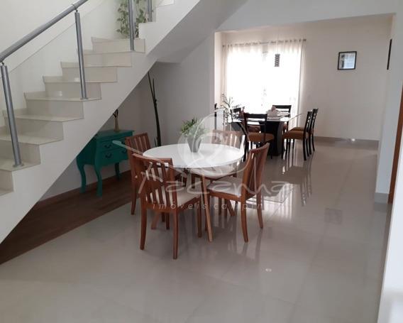 Casa Em Condomínio Fechado No Parque Taquaral. Imobiliária Em Campinas. - Ca00734 - 34460701