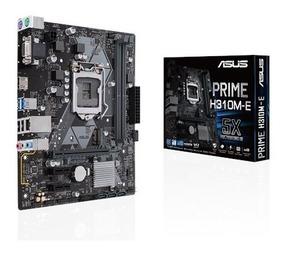 Placa Mae Asus Prime H310m-e 1151 Intel Ddr4 8ª Geração H310