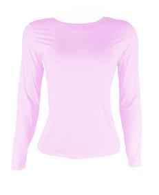 Camiseta Feminina Segunda Pele Com Proteção Solar Uv 50 +