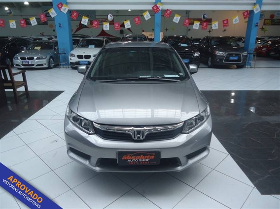 Honda Civic Lxs 1.8 4p Flex Automatico