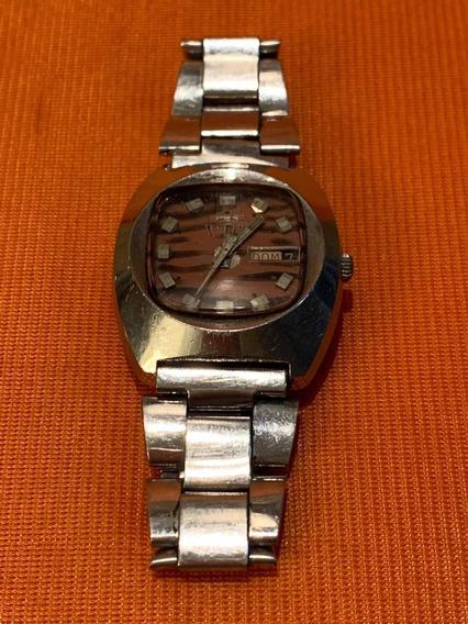 Relógio Technos Automático Incabloc Mod 10387 Militar