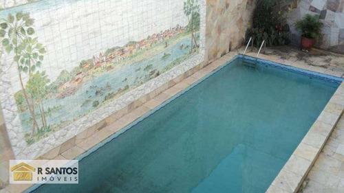Sobrado 7 Dormitórios À Venda, 546 M² Por R$ 2.200.000 - Jardim Aeroporto - São Paulo/sp - So1339