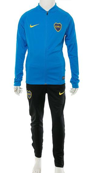 Conjunto Boca Juniors Dry Squad Kids Nike