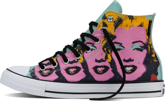 Converse Ct All Star Andy Warhol Monroe Marylin 153839c