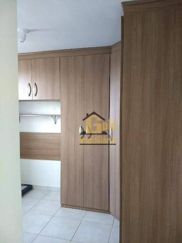 Imagem 1 de 5 de Apartamento Com 2 Dormitórios À Venda, 46 M² Por R$ 130.000,00 - Ipiranga - Ribeirão Preto/sp - Ap2372