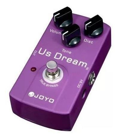 Pedal Joyo Us Dream Overdrive Distortion Jf34 + Frete Grátis