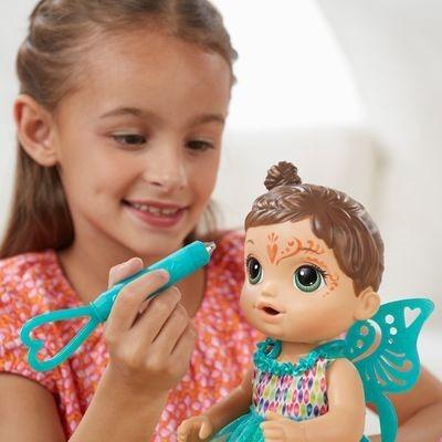 Baby Alive Hora Da Festa Morena Hasbro - Crianças 3 A 8 Anos