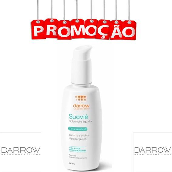 Sabonete Líquido Facial Suavié - 140ml - Darrow Envio 24h