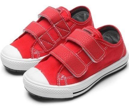 Tênis Infantil Klin Replay Baby 471 Vermelho