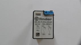 Rele 10a 250vac - Finder - 55.32.9.024.0040