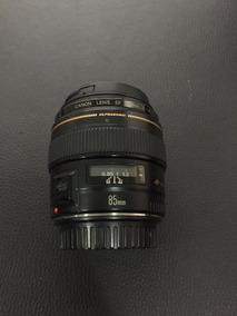 Lente Canon 85m 1.8