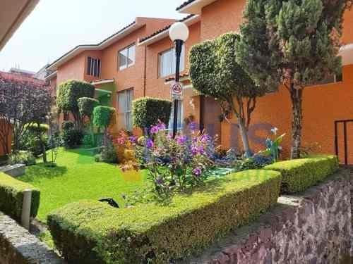 Renta Casa En Condominio, Ampl. Miguel Hgo., Picacho Ajusco