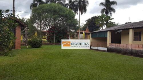 Chácara Com 2 Dormitórios À Venda, 2387 M² Por R$ 240.000,00 - Centro - Pilar Do Sul/sp - Ch0024