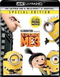 Blu-ray 4k --- Despicable Me 3