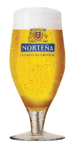 Copo Para Cerveja Em Vidro Norteña 310ml Transparente