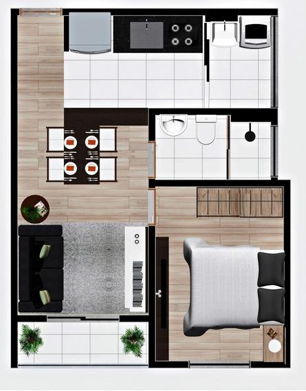 Excelente Apartamento - 1039