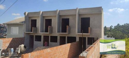 Casa Com 2 Dormitórios À Venda, 67 M² Por R$ 250.000,00 - Residencial Santo Antônio - Franco Da Rocha/sp - Ca0673
