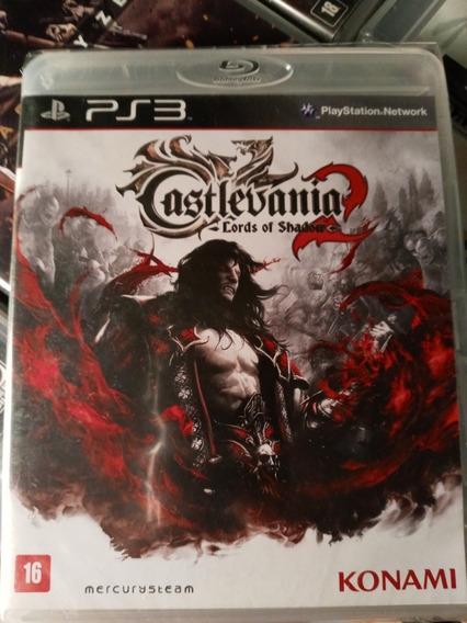 Castlevania Lords Of Shadow 2 Ps3 Midia Fisica Novo Lacrado
