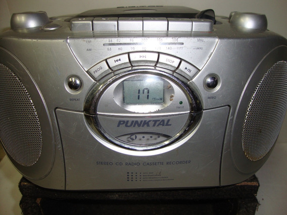 Radio Cd E Toca Fitas Portatil Só Funciona Fitas E Cd