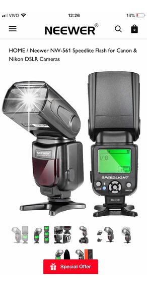 Flash Neewer Speedlight Nw 561