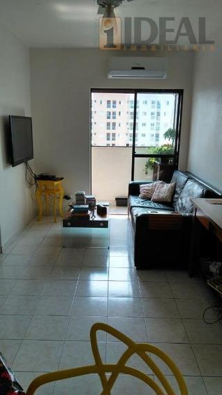 Apto Com 2 Dorm, 2 Wcs, Sala Com Sacada, Vista Livre, No Estuário, Em Santos/sp - Ap2233