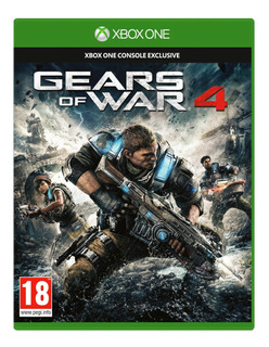 Juego Gears Of War 4 Xbox One Codigo Descarga Digital