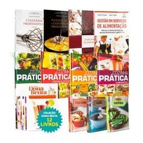 Coleção Livros De Gastronomia 24 Livros
