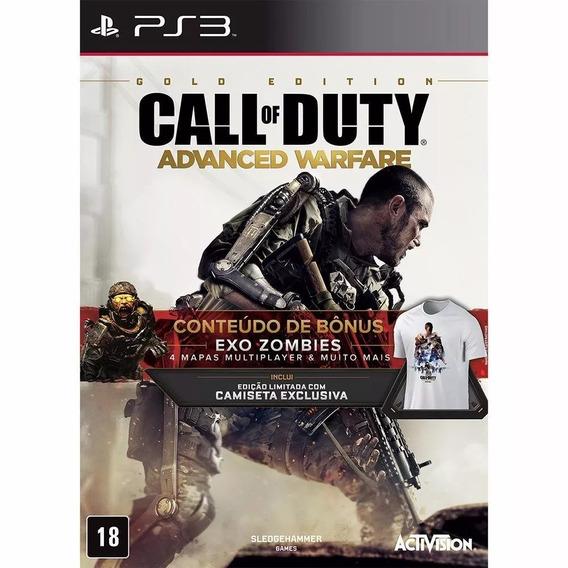 Call Of Duty Advanced Warfare Gold Edition Ps3 Novo Lacrado