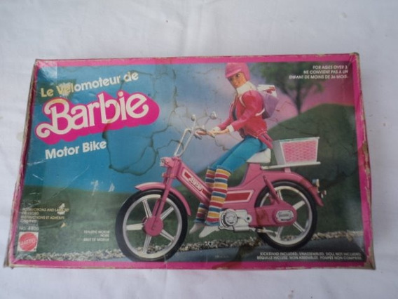 Antiga Bike Tipo Mobillete Da Barbie Ñ Sucata S/ Defeito