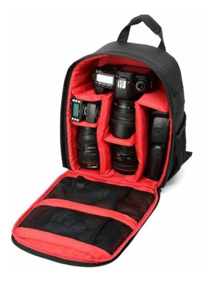 Mochila Para Fotografia Bag Dslr Câmera Impermeável Viagem