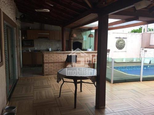 Casa Com 3 Dormitórios À Venda, 147 M² Por R$ 415.000 - Residencial E Comercial Palmares - Ribeirão Preto/sp - Ca1249
