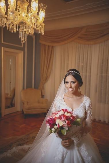 Vestido De Noiva (callas 05- Princisa) - Marca Center Noivas
